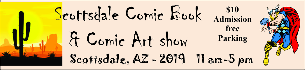 Scottsdale comic book & comic art show